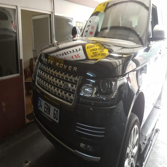 Range Rover Ön Balata Degisimi